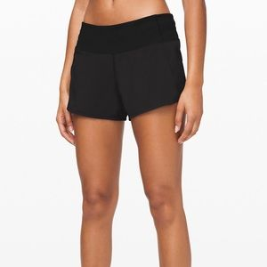 Lululemon Black Run Times Short II